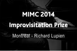 Richard Lupien Improvisation Prize, Montreal International Musical Competition